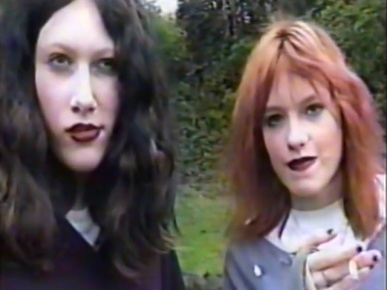 Video Kurt Cobain Conspiracy Theorist Talks To Two Goth Girls